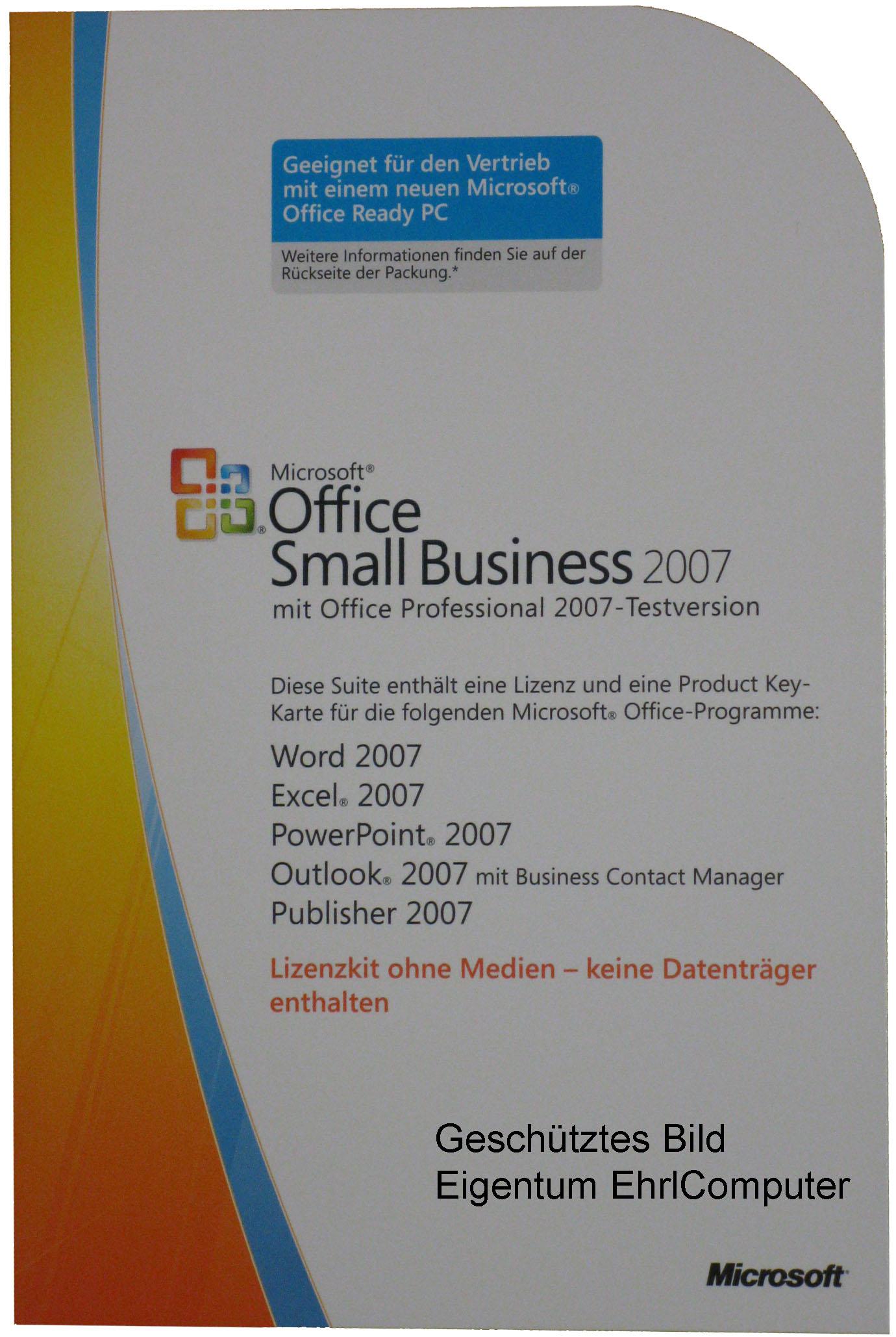 microsoft office small business 2007 key